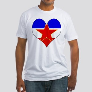 I Love Yugoslavia Fitted T-Shirt