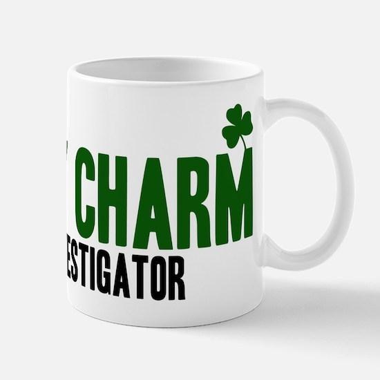 Fire Investigator lucky charm Mug