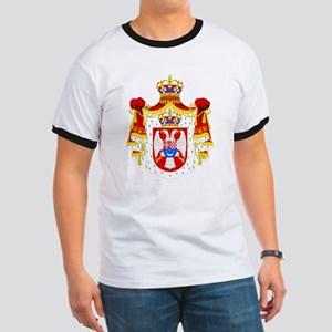 Yugoslavia Coat of Arms Ringer T
