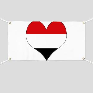 I Love yemen Banner