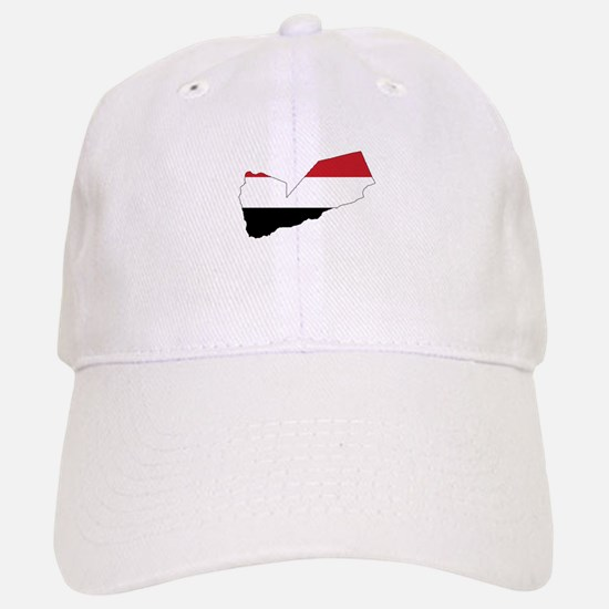 yemen Flag Map Baseball Baseball Cap