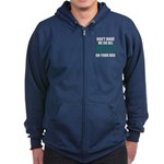 Seattle Baseball Zip Hoodie (dark)