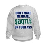Seattle Baseball Kids Sweatshirt