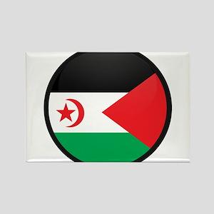 Western Sahara Rectangle Magnet