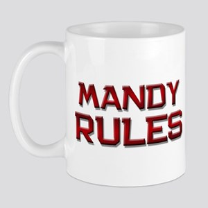 mandy rules Mug