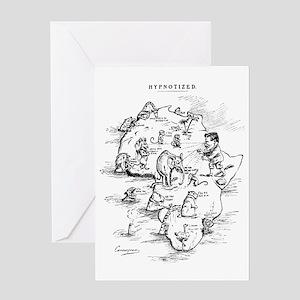 Hypnotized (Roosevelt) Greeting Card