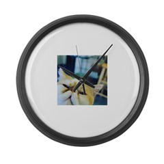 Smooshface Large Wall Clock