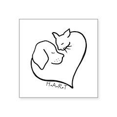 HART logo Sticker
