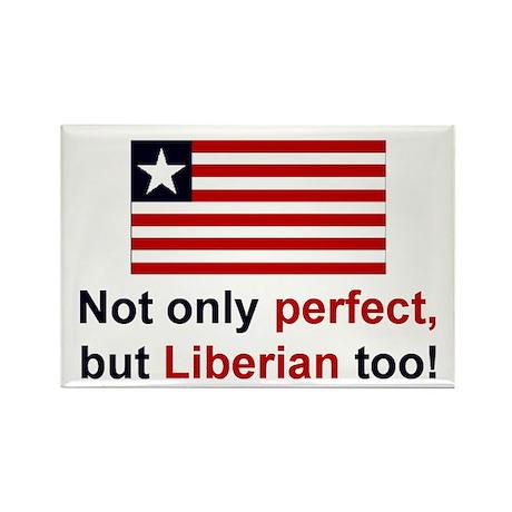 Perfect Liberian Rectangle Magnet