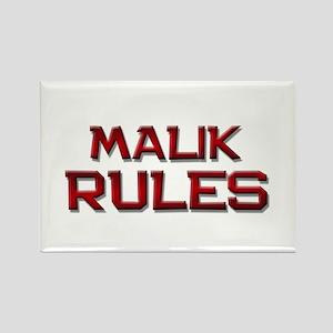 malik rules Rectangle Magnet