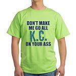 Kansas City Baseball Green T-Shirt
