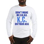 Kansas City Baseball Long Sleeve T-Shirt