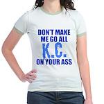 Kansas City Baseball Jr. Ringer T-Shirt