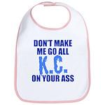 Kansas City Baseball Bib