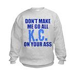 Kansas City Baseball Kids Sweatshirt
