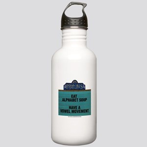 Eat Alphabet Soup Have Stainless Water Bottle 1.0L