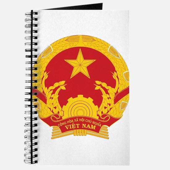 Vietnam Coat of Arms Journal