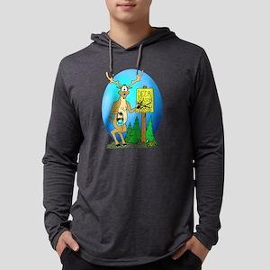 deersign Mens Hooded Shirt