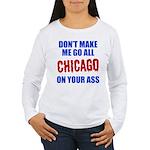Chicago Baseball Women's Long Sleeve T-Shirt