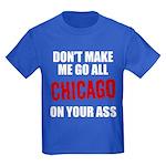 Chicago Baseball Kids Dark T-Shirt