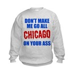 Chicago Baseball Kids Sweatshirt