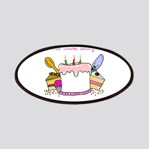 cake lady Patch