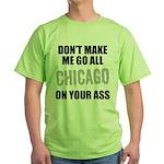 Chicago Baseball Green T-Shirt