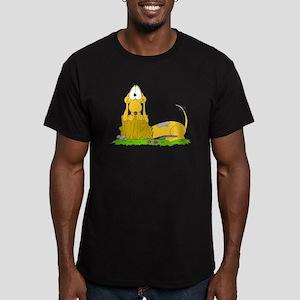 ScannedImage-47 Men's Fitted T-Shirt (dark)