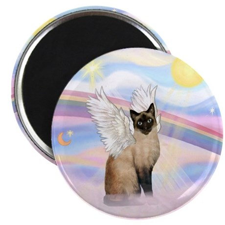 """Clouds / Siamese 2.25"""" Magnet (10 pack)"""