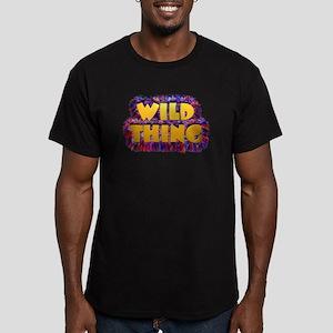 Wild Thing 2 Men's Fitted T-Shirt (dark)