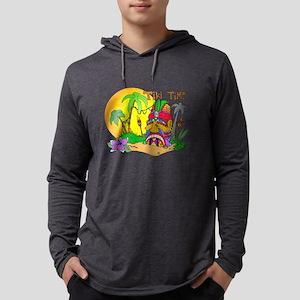 tikiface Mens Hooded Shirt