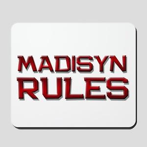 madisyn rules Mousepad