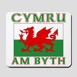 Wales for Ever Mousepad