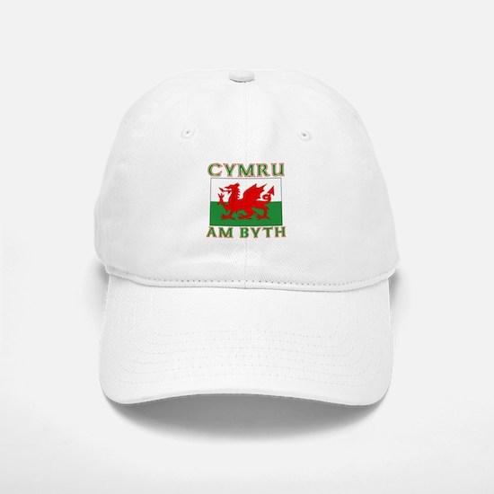 Wales for Ever Baseball Baseball Cap