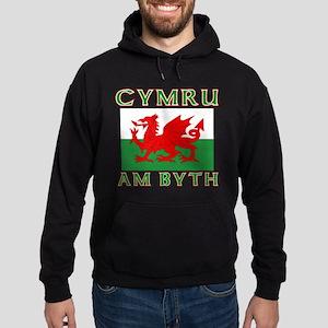 Wales for Ever Hoodie (dark)