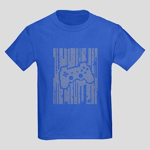 Dot Matrix Pad Kids Dark T-Shirt