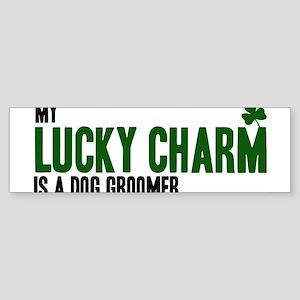 Dog Groomer lucky charm Bumper Sticker