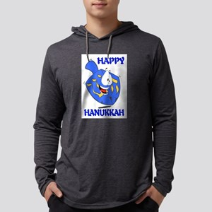 HAPPY HANUKKAH Mens Hooded Shirt