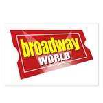 BroadwayWorld 2017 Logo Postcards (Package of 8)