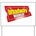 BroadwayWorld 2017 Logo Yard Sign