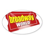 BroadwayWorld 2017 Logo Sticker