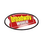 BroadwayWorld 2017 Logo Patch