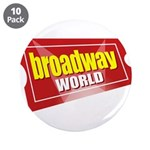 "BroadwayWorld 2017 Logo 3.5"" Button (10 pack)"