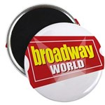 BroadwayWorld 2017 Logo Magnets