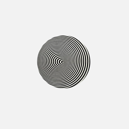 Optical Illusion Mini Button