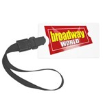 BroadwayWorld 2017 Logo Luggage Tag