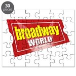 BroadwayWorld 2017 Logo Puzzle
