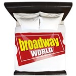 BroadwayWorld 2017 Logo King Duvet