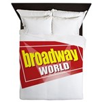 BroadwayWorld 2017 Logo Queen Duvet