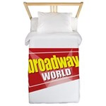BroadwayWorld 2017 Logo Twin Duvet Cover